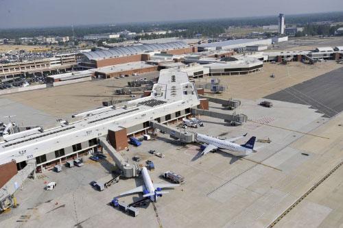 Аэропорт Волгодонск в городе Волгодонск в России Мы